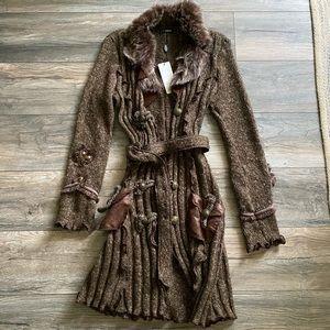 NWT Lissa long sweater